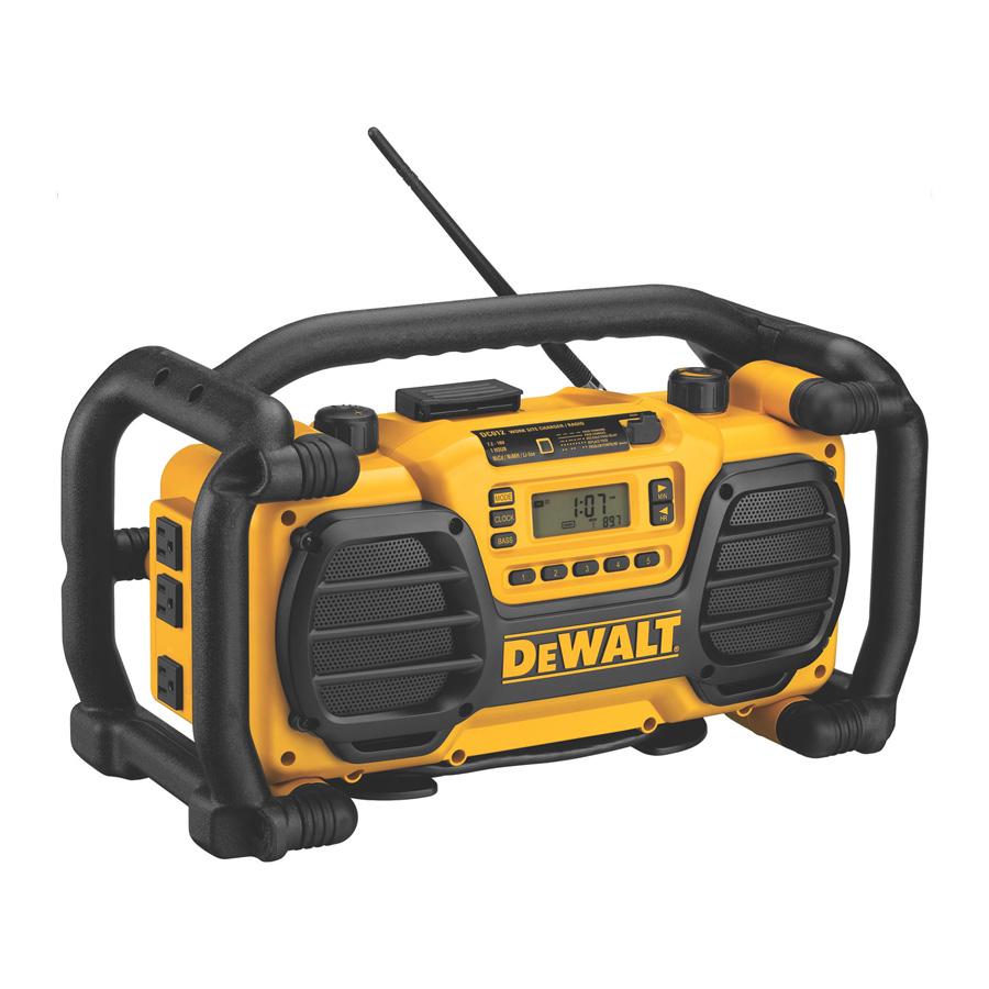 Chargeur de chantier / radio - DeWalt