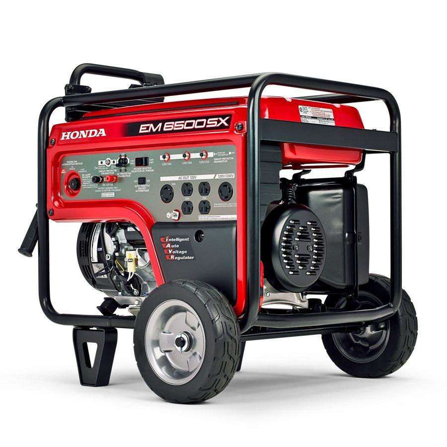 Génératrice démarrage électrique 6500 EM6500S2C - Honda